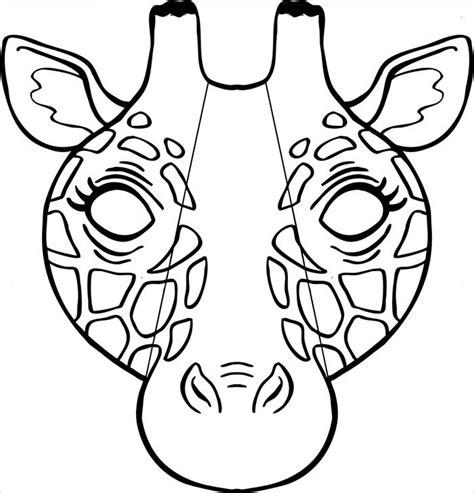 animal mask templates designs animal mask