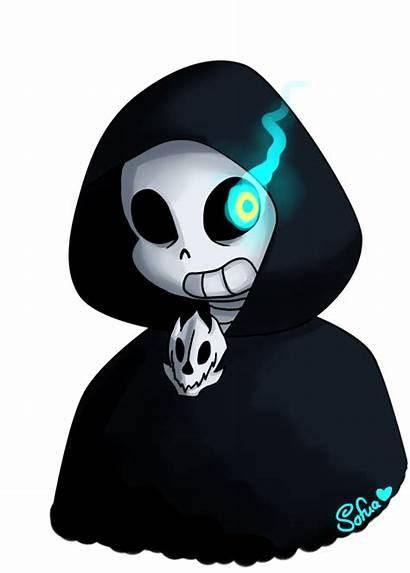 Sans Reapertale Deviantart Fanart Sofua Undertale Reaper