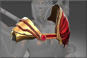 Pauldrons Of The Errant Soldier Dota 2 Wiki