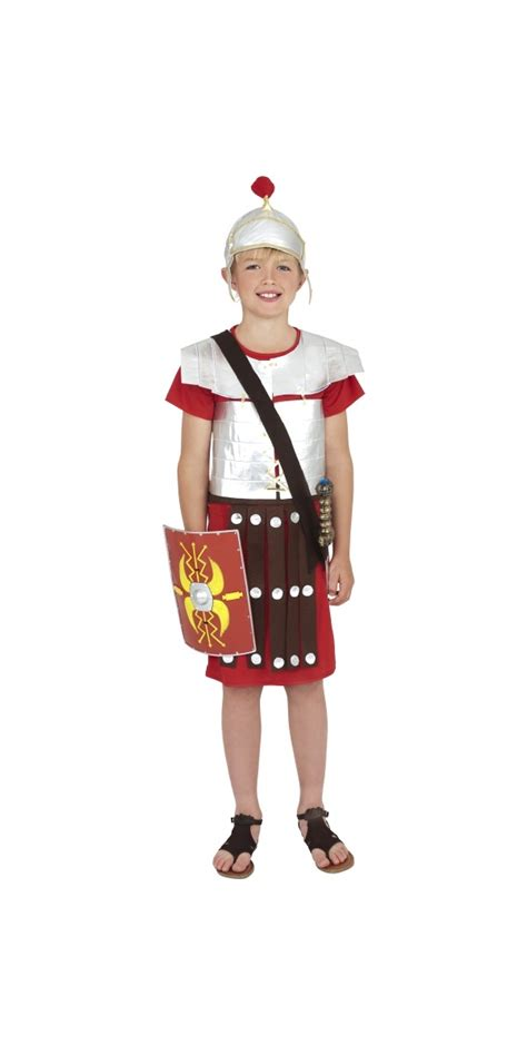 child roman soldier childrens costume  fancy