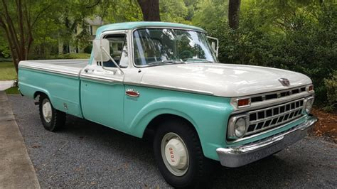 1965 Ford F250 Custom Cab For Sale On Bat Auctions
