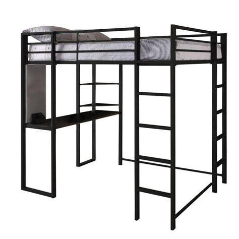 dhp abode size metal loft bed black ebay