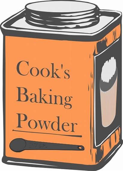 Baking Clipart Powder Tin Clip Svg Vector