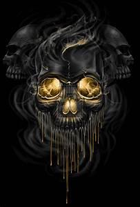 Skull Melt by ESIC on DeviantArt