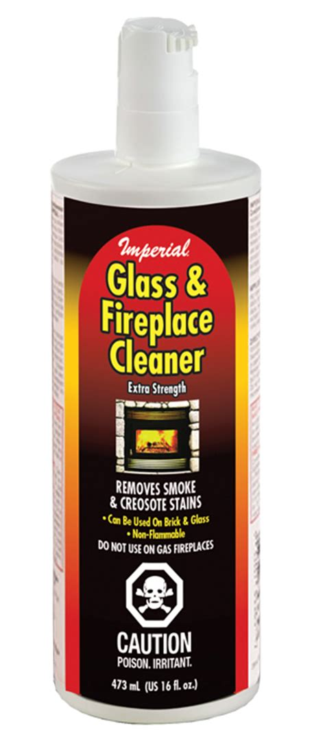 fireplace glass cleaner glass fireplace cleaner 16 fl oz in ct