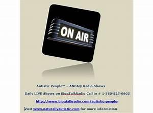 ANCA Radio Shows, Autistic People Online Radio   BlogTalkRadio