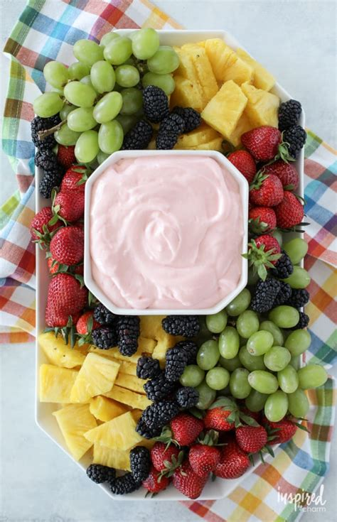 Easy Fruit Dip Made With 4 Ingredients In Under 5 Minutes