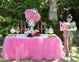 Decoration Anniversaire Fille : theme anniversaire princesse disney goreception ~ Teatrodelosmanantiales.com Idées de Décoration