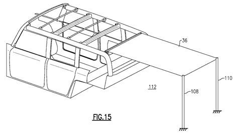 patent drawings suggest  ford bronco    convertible cloth roof  drive