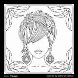 Coloring Pages Wife Adult Drawings Therapy App Uploaded User sketch template