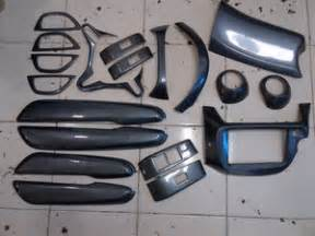 jual harga woodcarbon panel interior honda jazz ge