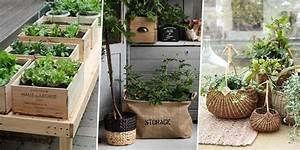 10 jardinieres originales pour une terrasse surprenante With déco chambre bébé pas cher avec bac a fleurs exterieur en pierre