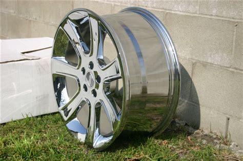 nib  original  chrome saleen wheels  sale