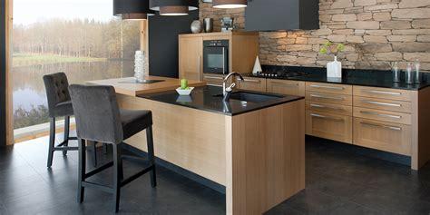 cuisine bois design réalisation d 39 une cuisine contemporaine en bois à bergerac