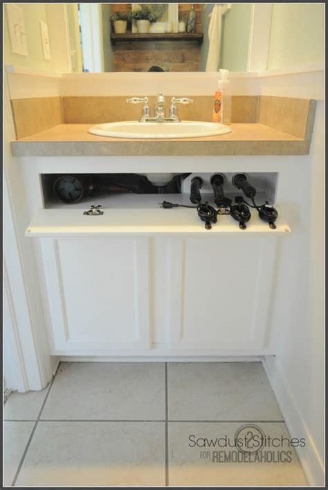 Remodelaholic   Easy Slide Out Under Cabinet Storage Drawers