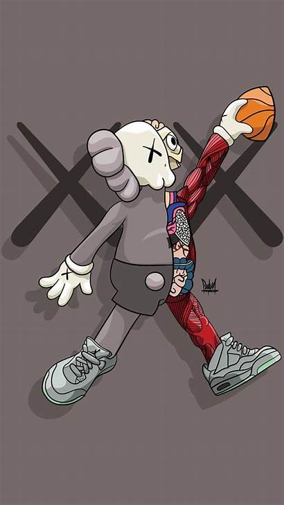 Hypebeast Kaws Wallpapers Hype Iphone Wallpaperplay