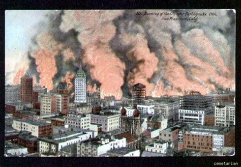 34 Best San Francisco Earthquake 1906 Images On Pinterest