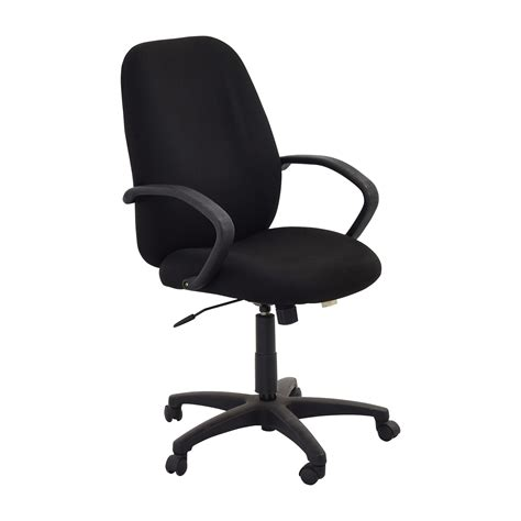 Office Chairs Black 80 black swivel office chair chairs