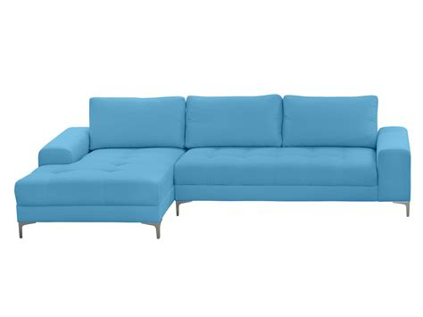 canape cuir bleu ciel maison design wiblia com