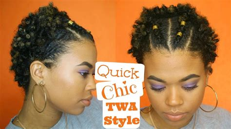Hairstyles For Twa by Chic Twa Style Easy Type 4 Hair
