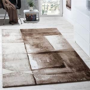 Teppich Modern Wohnzimmer : designer teppich modern kurzflor wohnzimmer trendig ~ Lizthompson.info Haus und Dekorationen