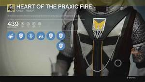 Destiny - Exotic  Armor - Heart Of The Praxic Fire