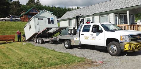 Mule 4 Shed Mover by Northwest Shed Movers Cabin Shed Gazebo And Barn Moving