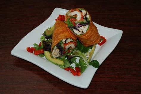 healthy garden piscataway grilled chicken wrap picture of healthy garden gourmet