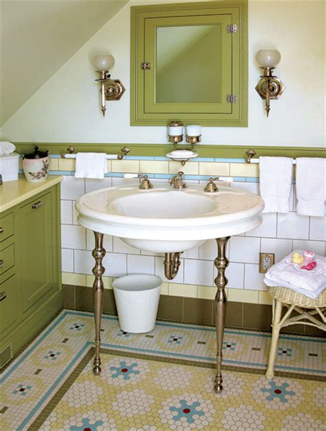 mosaic floor tile patterns  baths restoration