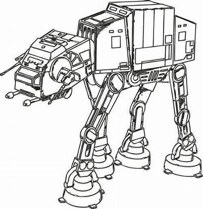 Wars Coloring Star Pages Destroyer Drawing Colouring