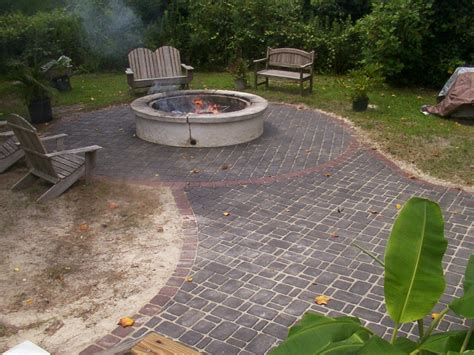 how to build a brick patio and installation
