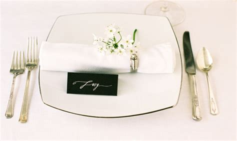 B Dunlap Table Scape In Southern Weddings