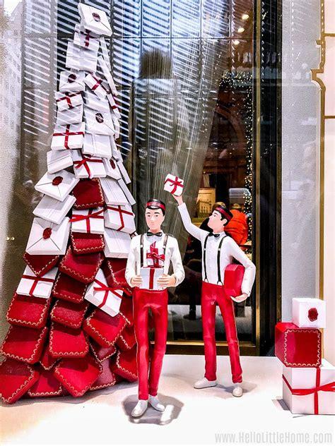 nyc christmas windows  walking    home