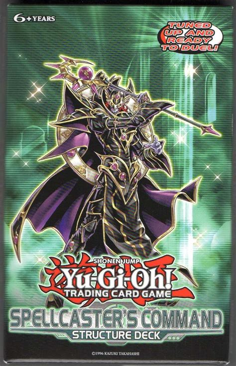 Spellcasters Command Structure Deck by Structure Deck Spellcaster S Command Unlimited 350
