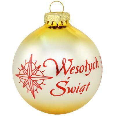 polish christmas custom ornament ethnic pride