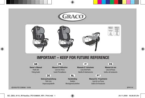 siege graco user manual graco nautilus car seats 173 reviews for the