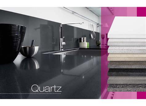 plan de travail cuisine quartz blanc plan de travail quartz sur mesure cuisine