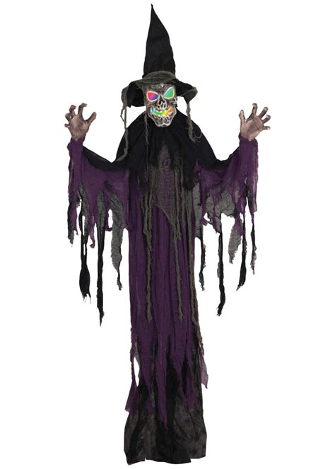 Hanging Decorations - creepy hanging witch decoration