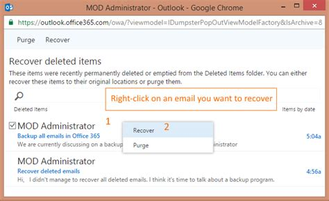 Office 365 Recover Deleted Items by How To Recover Deleted Emails In Office 365