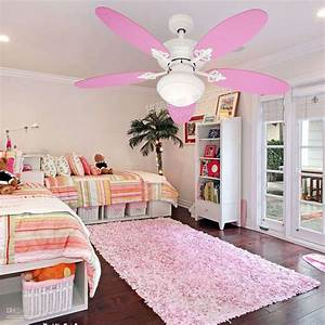 Accessories Cool Girl Bedroom Decoration With Ceiling Fan