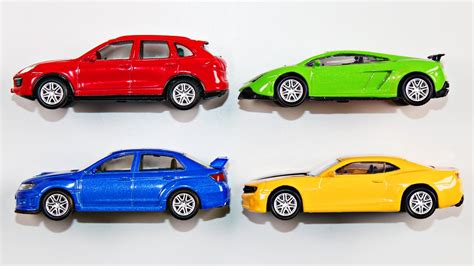 Learning Colors With Street Vehicles For Kids Learn