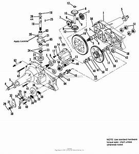 Simplicity 1691931  Agrifab Parts Diagram For Transaxle Group  Agrifab