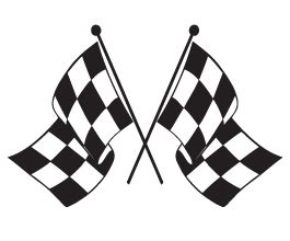 checkered flag car decals dezign