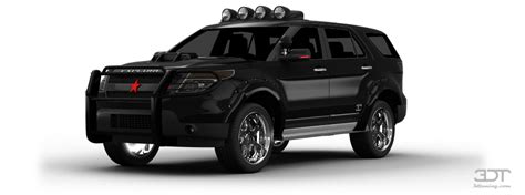 Tuning Ford Explorer 2011 online, accessories and spare ...