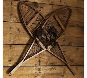 Vintage Snowshoes Wall Art