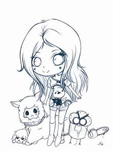 Pencil!Chibi Cibia and her friends by LadyCibia on DeviantArt