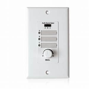 Wall Plate Input Select Switch Volume Control 10k Pot
