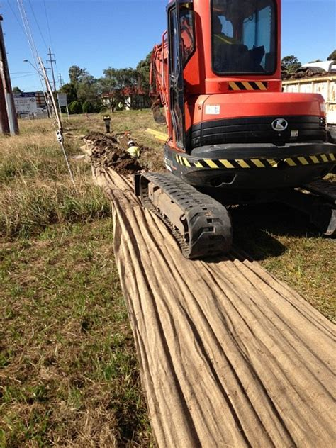 trenching  cable installation dunmain pty