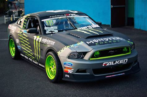 ford mustang rtr monster energy nitto tire  vaughn
