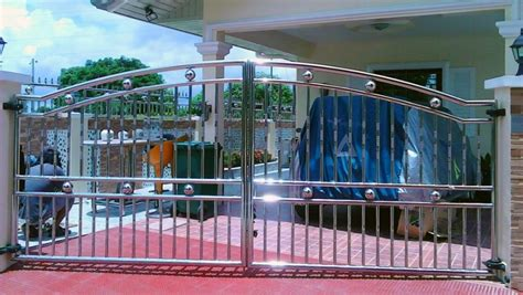 stainless steel gate  fence society glass gabriel